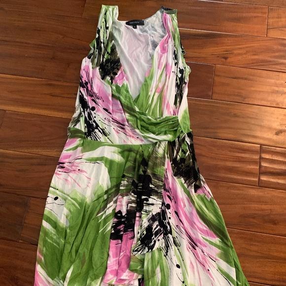 Karen Kane Dresses & Skirts - Karen Kane Size Xl Dress, pink, white, black and g